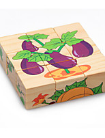 3D Puzzles Educational Toy Jigsaw Puzzle Toys Vegetables Animals Not Specified Pieces