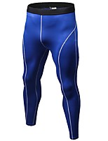 Men's Running Tights Gym Leggings Fitness, Running & Yoga Quik Dry Anatomic Design Breathable Lightweight Sports Tights Bottoms for