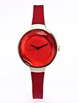 Women's Dress Watch Fashion Watch Wrist watch Chinese Quartz Silicone Band Vintage Elegant Casual Black White Blue Red Green Beige