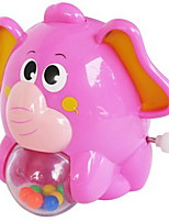Wind-up Toy Toys Elephant Animal Plastics Pieces Not Specified Gift