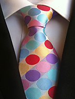 Men's Polyster Neck TieNeckwear Polka Dot All Seasons W0062