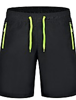 Men's Running Shorts Breathability Sweat-Wicking Shorts Pants / Trousers Bottoms for Hiking Exercise & Fitness Running Polyester Loose