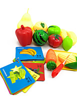 Pretend Play Magnet Toys Educational Toy Toy Kitchen Sets Toy Foods Toys Vegetables Food Friut Kids' Children's Pieces