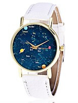 XU Neutral Personality Contracted The Dream Sky Casual Wrist Watch