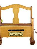 DIY KIT Music Box Toys Furniture Wood Pieces Kid Unisex Gift