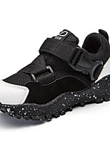Boys' Athletic Shoes Light Soles PU Spring Fall Casual Buckle Flat Heel Ruby Gray Black Flat