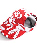 Cat Dog Bandanas & Hats Hair Accessories Dog Clothes Party Casual/Daily Cowboy Sports Letter & Number Blue Red