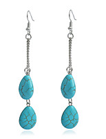 Women's Synthetic Emerald Basic Vintage Turquoise Alloy Jewelry For Gift Daily Evening Party Street Club