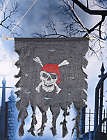 Halloween Props Pirate Flag Party Decoration Flag Pirate Ghost Skull Festival Ornament Party Props