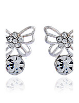 Women's Stud Earrings Rhinestone Basic Hypoallergenic Simple Style Rhinestone Alloy Jewelry For Gift Daily Casual Date