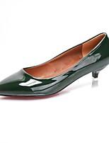 Da donna Tacchi Decolleté Primavera PU (Poliuretano) Formale A stiletto Nero Marrone chiaro Verde scuro 5 - 7 cm