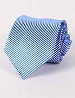 Men's Business Casual Jacquard Striped Tie