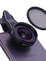 OREA Mobile Phone Lens 17mm Wide Angle CPL 18X Macro With Butterfly Flap Clip External Lens