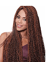 micro zizi hair crochet braids 24 inch outre pression 613 bug brown crochet braiding knot micro zizi braids 80g synthetic kanekalon hair extension 1pc
