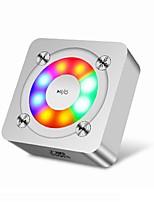 3 Bluetooth 4.0 Altoparlante portatile Cassa Oro Argento