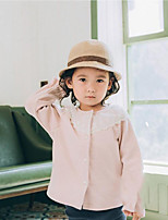 Girls' Solid Suit & Blazer,Cotton Fall Long Sleeve