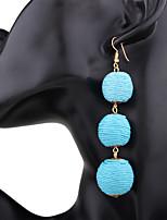 Per donna Orecchini a goccia Orecchini Set Di tendenza Vintage stile della Boemia Personalizzato Resina Lega Gioielli PerCasual Evento