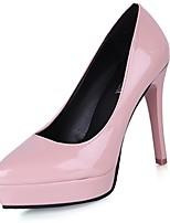 Da donna Tacchi Suole leggere Primavera Autunno PU (Poliuretano) Casual Formale A stiletto Bianco Nero Grigio chiaro Rosso Rosa 5 - 7 cm