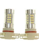 Sencart 2pcs H16 PGJ193  Fog Driving Light Headlight Bulbs Lamps(White/Red/Blue/Warm White) (DC/AC9-32V)