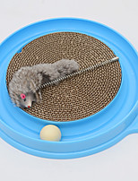 Cat Toy Pet Toys Interactive Mouse Toy Cute Scratch Pad Plastic