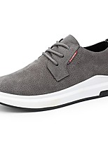 Men's Sneakers Comfort Knit Spring Fall Casual Outdoor Walking Comfort Lace-up Flat Heel Gray Beige Black Flat