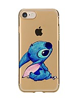 Für iPhone X iPhone 8 Hüllen Cover Transparent Muster Rückseitenabdeckung Hülle Cartoon Design Weich TPU für Apple iPhone X iPhone 8 Plus