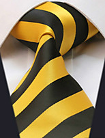 Men's Polyster Neck TieNeckwear Striped All Seasons W0075
