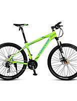 Mountain Bike Cycling 30 Speed 26 Inch/700CC MICROSHIFT 24 Double Disc Brake Suspension Fork Aluminium Alloy FrameOrdinary/Standard