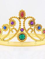 halloween weihnachten geburtstag königin krone montiert edelstein kopf garni cosplay carnaval maskerade party kostüm prop