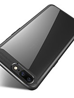 Недорогие -Кейс для Назначение OnePlus Зеркальная поверхность Прозрачный Кейс на заднюю панель Сплошной цвет Мягкий Силикон для One Plus 5