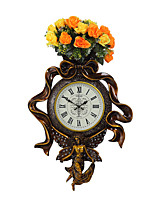 Modern/Contemporary Traditional Country Casual Retro Religious & Inspirational Wall ClockClock Cartoon Resin Indoor Clock