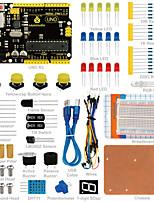 Keyestudio uno r3 breadboard kit für arduino starter mit dupont wireledresistorpdf