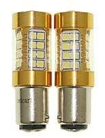 Sencart 2pcs 1142 Ba15d Flashing Bulb Led Car Tail Turn Reverse Light Bulb Lamps(White/Red/Blue/Warm White) (DC/AC9-16V)