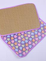 Dog Bed Pet Blankets Geometic Portable Breathable Foldable Soft Adjustable Random Color