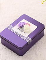 10 Фавор держатель-Кубический Нетканое полотно Металл Коробочки Горшки и банки для конфет
