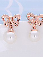 Women's Stud Earrings Basic Imitation Pearl Jewelry For Wedding Party Birthday Gift Evening Party