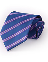 Da uomo Per tutte le stagioni Poliestere Casual Cravatta,A righe