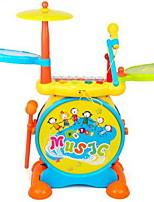 Educational Toy Toy Instruments Toys Piano Drum kit Musical Instruments Stars Drum Set Cartoon Plastics Hard plastic Pieces Kid Unisex