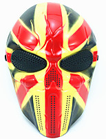 Urlaubsrequisiten Urlaubszubehör Dekoration Praktische Witzsachen Halloween-Masken Haloween Figuren Masken Totenkopfmaske Spielzeuge