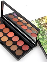 Lidschattenpalette Matt Lidschatten-Palette Puder Alltag Make-up Party Make-up