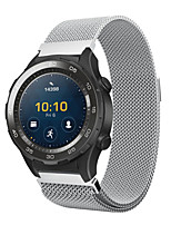 cheap -For Huawei Watch 2 Milanese Stainless Steel Watch Band Strap Bracelet