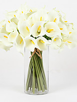 10 Branch PU Common Callalily Home Decoration Artificial Flowers