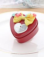 10 Geschenke Halter-Herzförmig Vließstoff Metal Geschenkboxen Süßigkeiten Gläser und Flaschen
