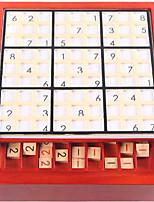 Lindert Stress Schachspiel Bildungsspielsachen Sudoku Puzzles Logik & Puzzlespielsachen Spielzeuge Rechteckig Unisex 1 Stücke