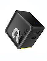 Carregador USB ROCK 2 portas Estação de carregador de mesa Universal Adaptador de carregamento