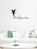 Cartoon Design Worte & Zitate Mode Wand-Sticker Flugzeug-Wand Sticker Dekorative Wand Sticker Hochzeits Sticker Stoff Haus Dekoration