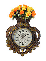 Modern/Contemporary Traditional Country Casual Retro Wall Clock,Clock Animal Resin Indoor Clock