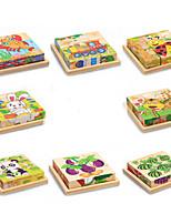Puzzle 3D Gioco educativo Puzzle Giocattoli Rabbit Gatto Animali Animali Non specificato Per bambini Pezzi