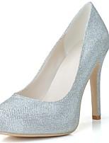 Femme Chaussures de mariage Chaussures formelles Printemps Eté Paillette Brillante Mariage Soirée & Evénement Talon Aiguille Or Noir