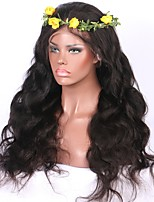 Top Quality Glueless Brazilian Human Hair Deep Parting Lace Front Wig Body Wave 13x6 Lace Front Virgin Human Hair Wig
